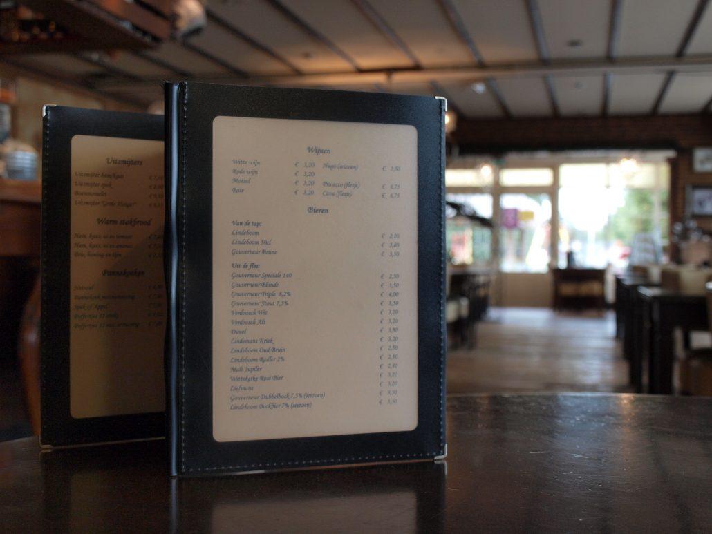 lunchkaart chaam